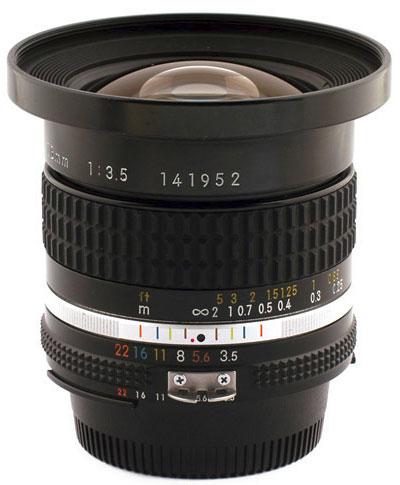 Nikon Nikkor 18mm F/3.5 Ai-S