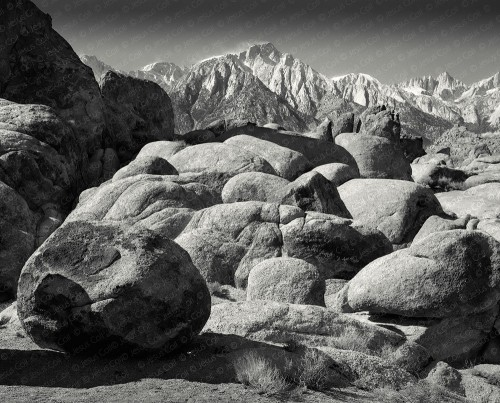 Alabama Hills fine art giclee photograph by Jesus Coll