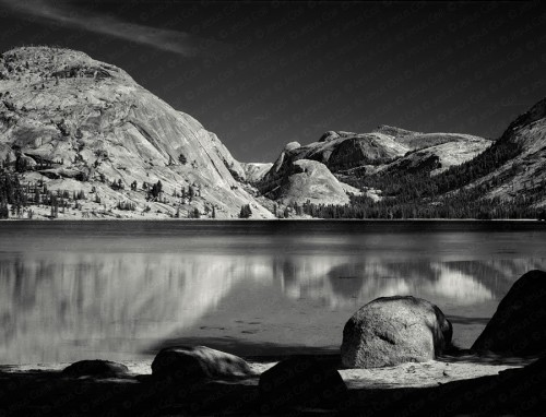Tenaya Lake fine art giclee photograph. Fine Art Landscape Photography by Jesus Coll