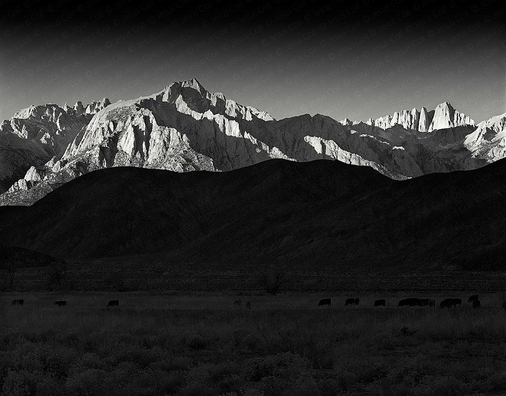 Lone Pine Peak at Dawn, Lone Pine, California, USA. Fotografía de Paisaje Natural de Jesús Coll