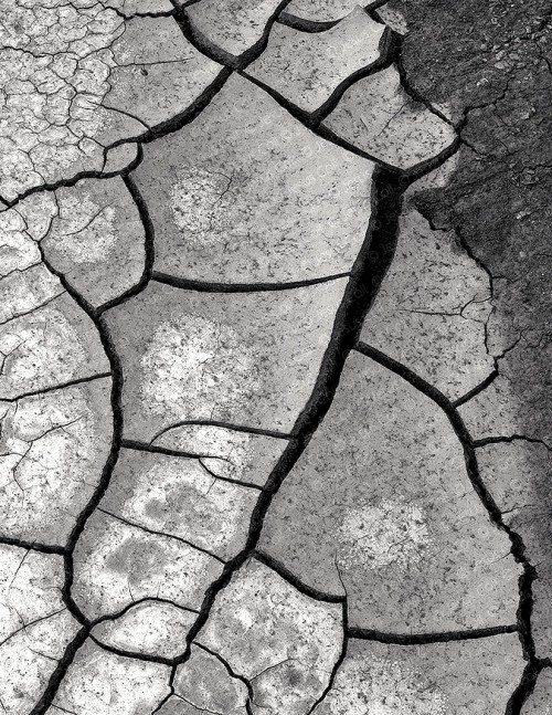 Drought Cracks, Glen Canyon, Utah, USA
