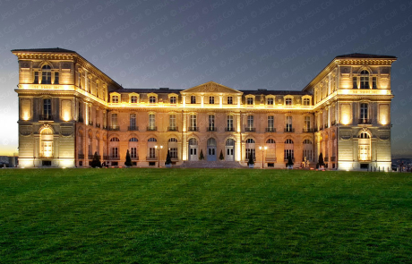 Marseille Pharo Palace, Bouches du Rhone, France. Stock Photography by Jesus Coll