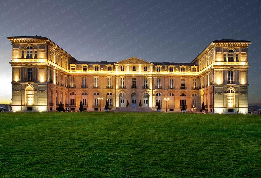 Marseille Pharo Palace, Bouches du Rhone, Francia. Fotografía de stock de Jesús Coll