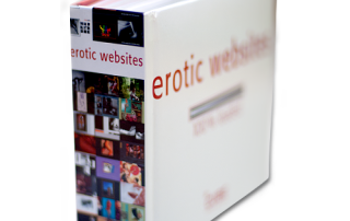 """Erotic Websites - 100% loaded"" edited by Feieraben oHG Verlag, Berlin, Germany."