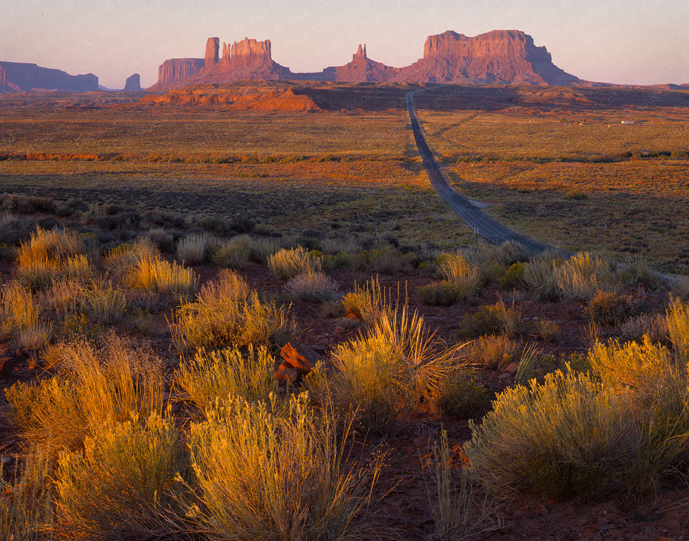 Sunrise, Monument Valley, Utah, USA. Fine Art Landscapes Photography by Jesus Coll
