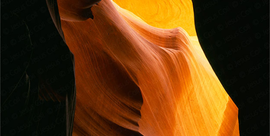 The Eye, Middle Antelope Canyon, Arizona, USA. Fotografía Fine Art color de Paisajes de Jesús Coll