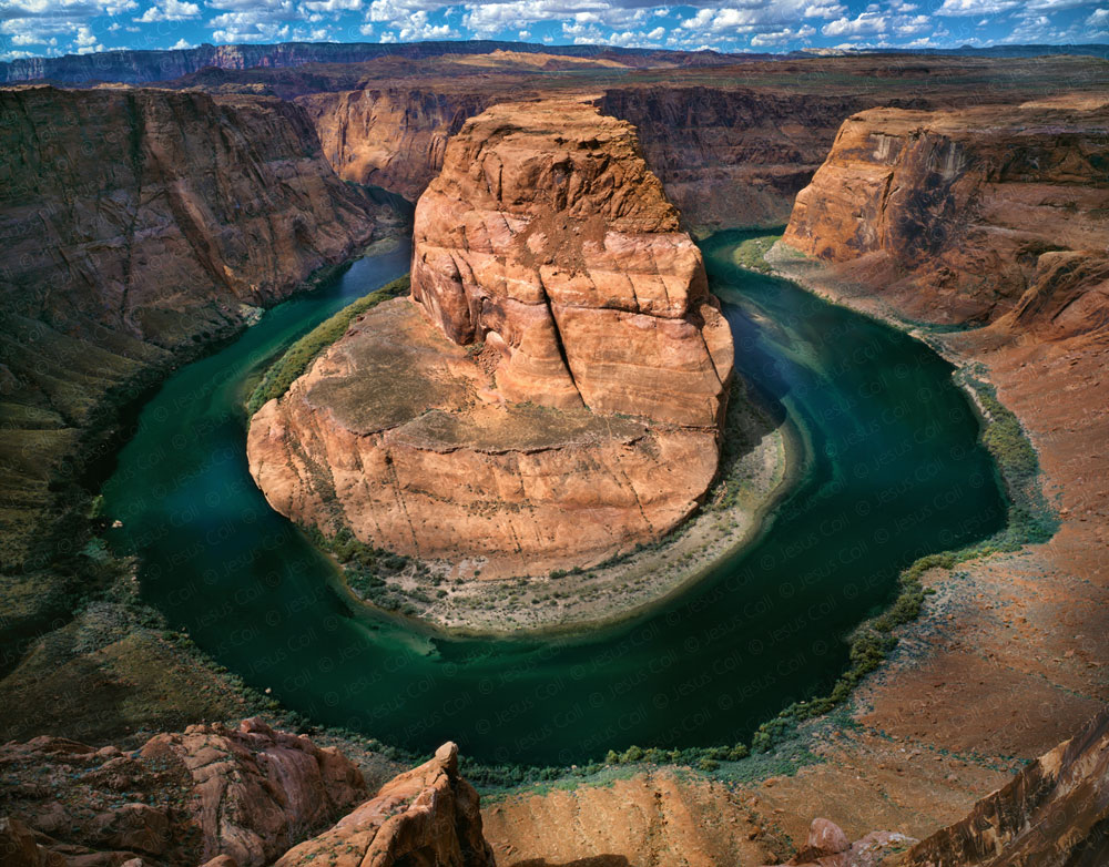 Colorado River, The Horseshoe Bend, Arizona, USA. Fine Art color Landscape Photography by Jesus Coll