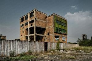 Fòssils II - Romania 2007. Fotografía Fine Art Color de Paisaje Urbano de Jesús Coll