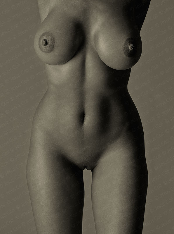 Black Body II. Fine Art Nude Photography by Jesus Coll