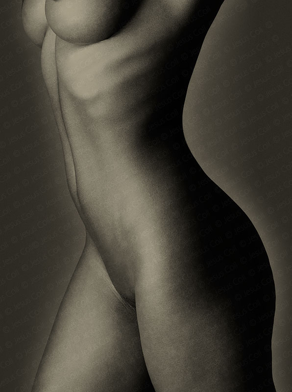 Black Body III. Fine Art Nude Photography by Jesus Coll