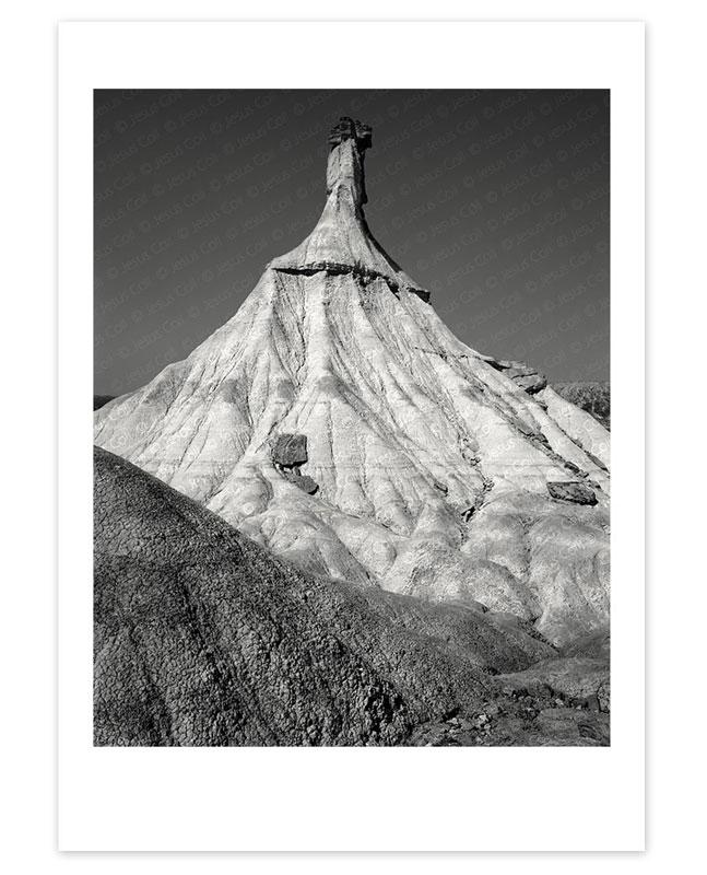 Impresión Fine Art Giclée. Castil de Tierra, noon, Bárdenas Reales, Navarra, Spain by Jesús Coll