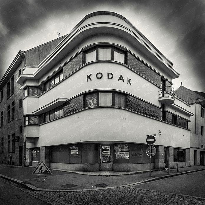 Kodak, Quimper, Bretaña, Francia. Fotografía Fine Art en Blanco y Negro de Jesus Coll