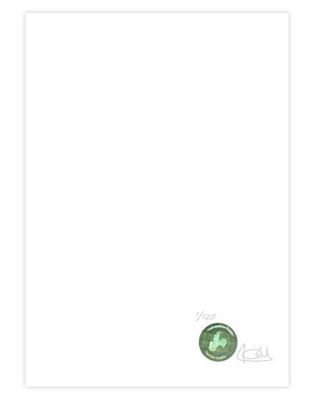 Impresión fine art giclée edición limitada de Jesús Coll impresa en Hahnemühle con certificado de Autenticidad Hahnemuehle y firmada por jesus Coll