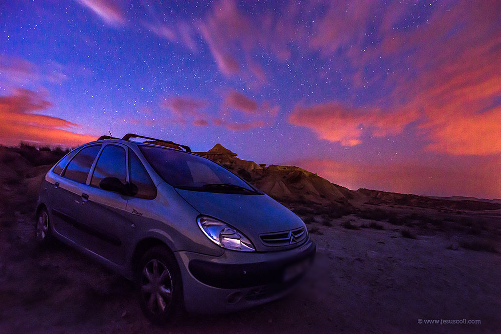 ¿ Nikon 18mm. f/3.5 AI-s para fotografiar el cielo nocturno ? ISO 5000 f/8 30 seg © Jesus Coll