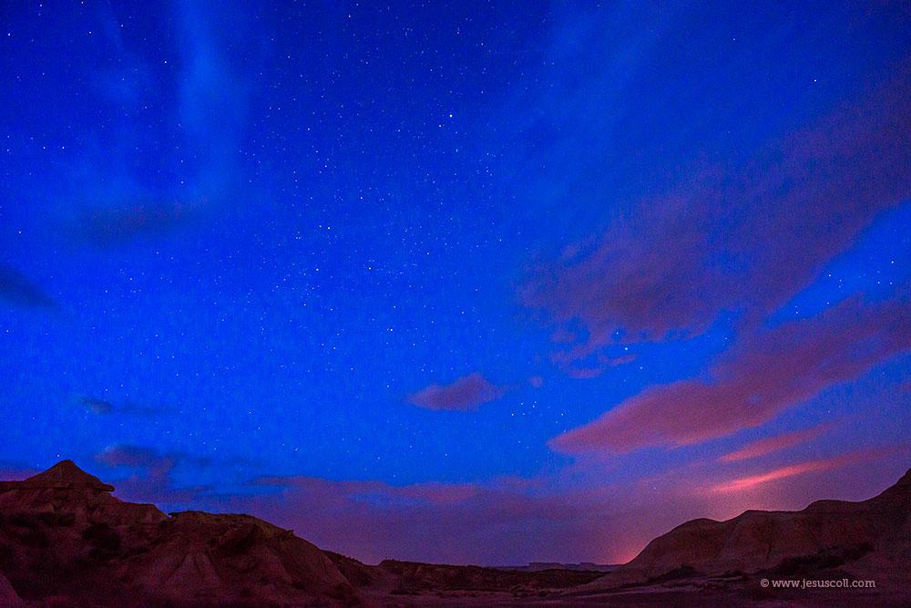 ¿ Nikon 18mm. f/3.5 AI-s para fotografiar el cielo nocturno ? ISO 1600 f/8 20 seg © Jesus Coll