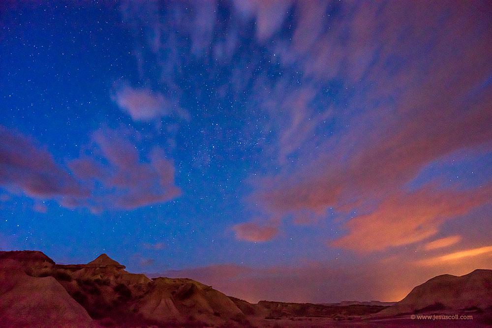 ¿ Nikon 18mm. f/3.5 AI-s para fotografiar el cielo nocturno ? ISO 3200 f/8 20 seg © Jesus Coll
