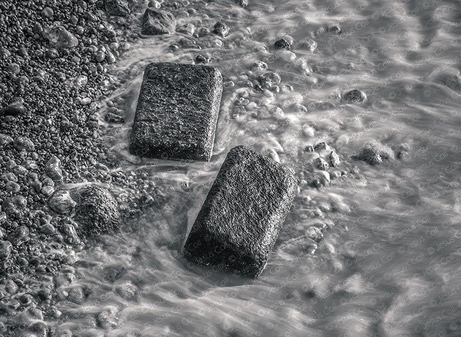 White Boulder, Pemaquid Point, Maine, USA. Fotografía Fine Art de Paisaje en Blanco y Negro de Jesús Coll