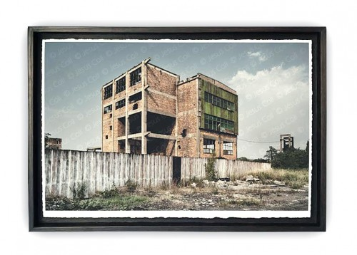 """Fòssils B"" Photographic triptych work on Fine Art Giclée by Jesús Coll"