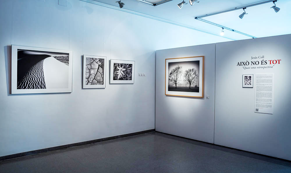 Festimatge 2015 photo exhibition by Jesus Coll Fine Art Black and White Landscape Photographer from Barcelona