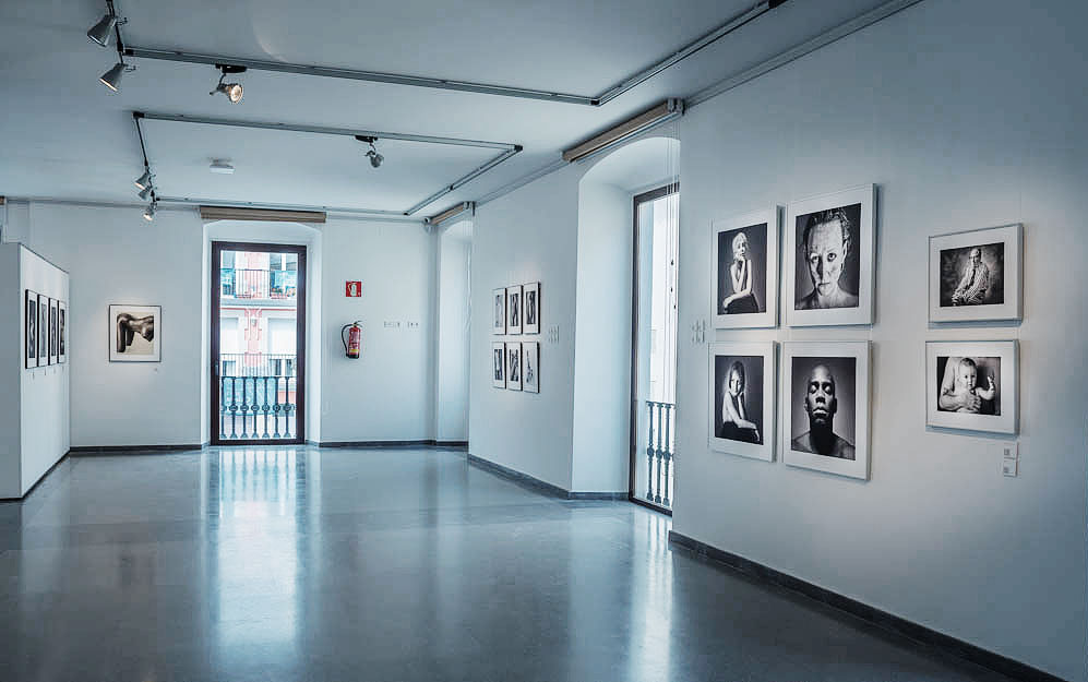 Festimatge 2015 photo exhibition by Jesus Coll Fine Art Black and White Portrait Photographer from Barcelona
