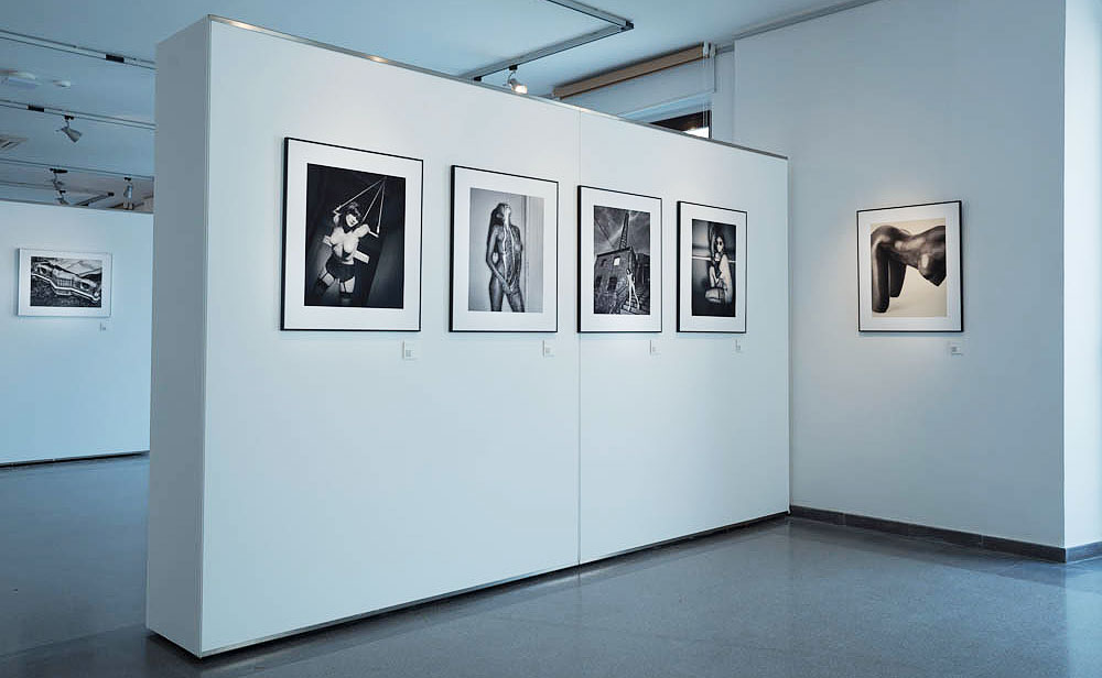 Festimatge 2015 photo exhibition in Calella by Jesus Coll Fine Art Black and White Nude Photographer from Barcelona
