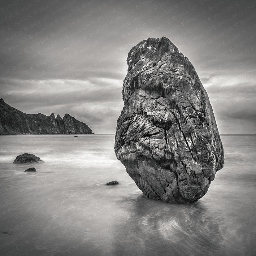 Equilibrio, Playa de Aguilar, Asturias, España