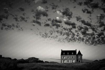 Winding Road. Phare du Creac'h. Ouessant, Bretagne, France