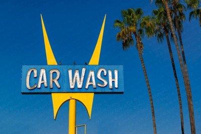 Car Wash, Los Angeles, California, Route-66