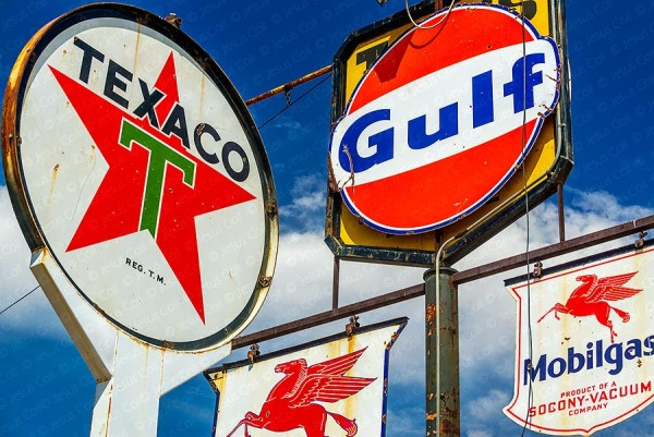 Vintage Signs, Barstow, California