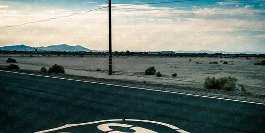 Route 66 near Ludlow, California