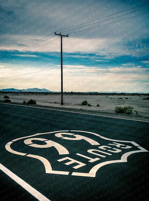 Route 66 near Ludlow, California