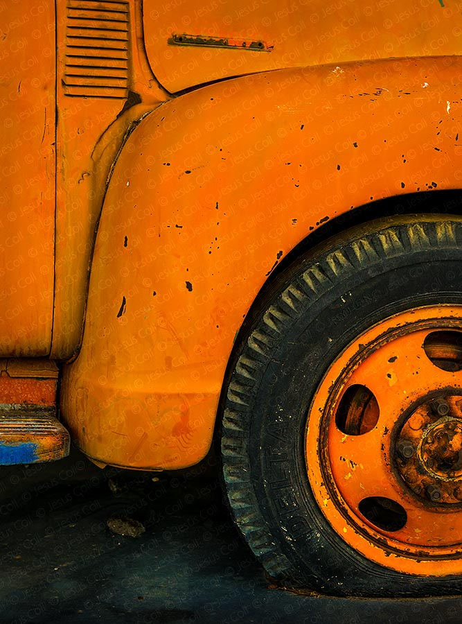 Old Pickup, Ludlow, California