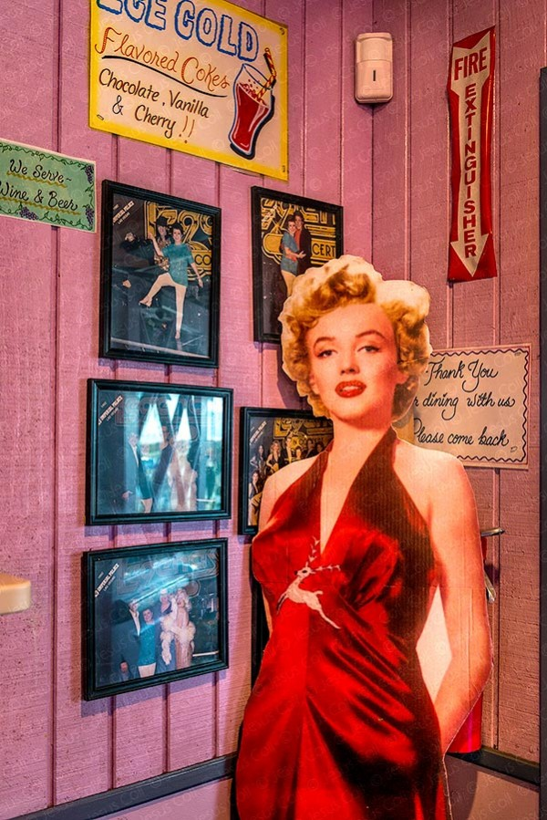 Marylin Monroe, Peggy Sue, California