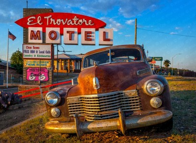 Trovatore Motel, Kingman, Arizona