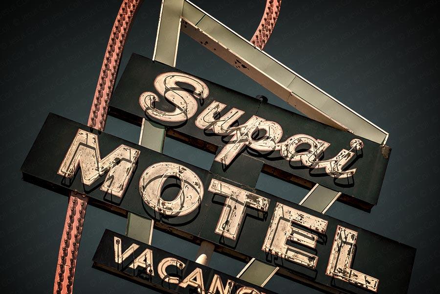 Supai Motel, Seligman, Arizona, Route-66