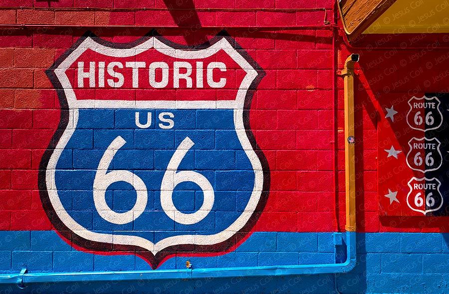 Red Wall, Seligman, Arizona
