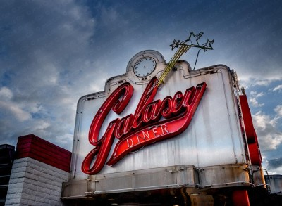 Galaxy Diner, Flagstaff, Arizona, Route-66
