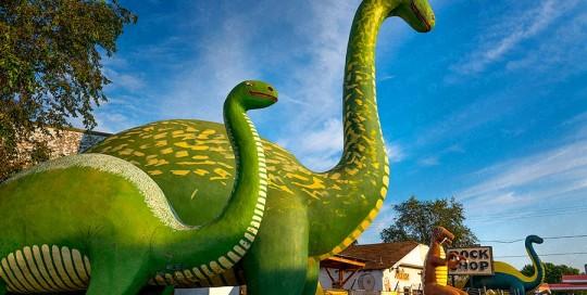 Dinosaur Rock Shop, Holbrook, Arizona