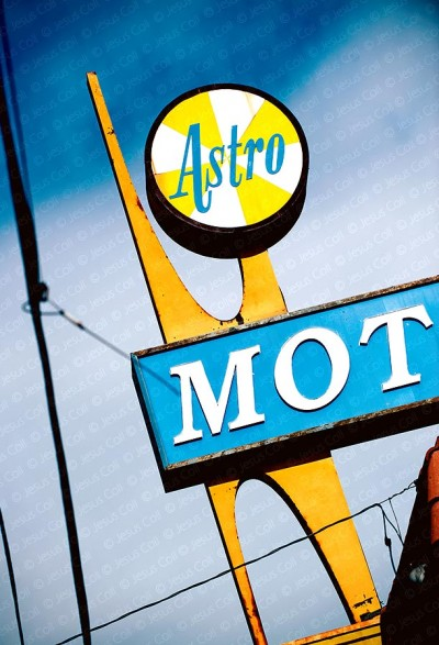 Astro Motel Sign, Culver City, California