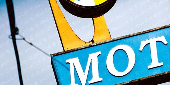Astro Motel Sign, Culver City, California